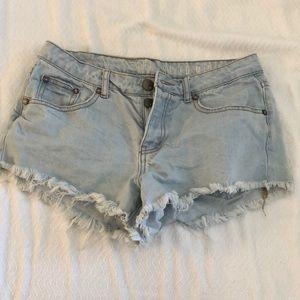 COTTON ON- light denim shorts